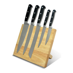 Good Cooking - Good Cooking Magnetic Knife Block - - Strong magnets hold knives in place.