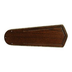 Craftmade - 56 in. Custom Carved Ophelia Blades in Walnut - Set of 5 Fan Blades. Fits only Craftmade brand fans. Blade Length: 56 in.. Suitable for Damp Locations. Craftmade Type 1