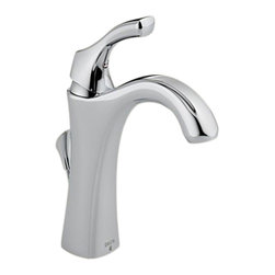 Delta - Delta 592-DST Addison Single Handle Centerset Lavatory Faucet (Chrome) - Delta 592-DST Addison Collection features delicate and graceful curves inspired by the shapes from a sea shell. The Delta 592-DST is a one handle Lavatory Faucet in Chrome.