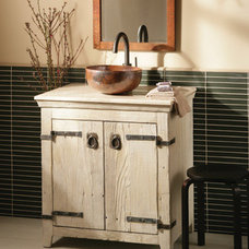Contemporary Bathroom Vanities And Sink Consoles Native Trails Old World Vanity
