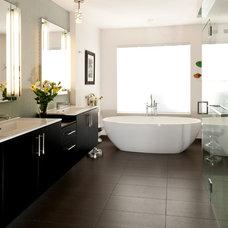 Contemporary Bathroom by Kimberlee Jaynes