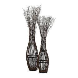 Cyan Design - Cyan Design Grande Twig Tree - Material: Wicker