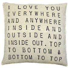 Modern Decorative Pillows by Rosenberry Rooms