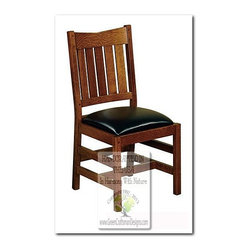Mission Dining Chairs - 100% HANDCRAFTED IN THE UNITED STATES BY OUR MASTER-CRAFTSMAN AND GUARANTEED FOR LIFE!