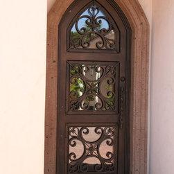 Iron Entry Doors -