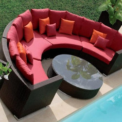 Outdoor furniture DH-9609 - rattan outdoor furniture