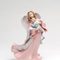 "ATD - 8 Inch ""Angel of Life Holding Newborn Child"" Decorative Figurine - This gorgeous 8 Inch ""Angel of Life Holding Newborn Child"" Decorative Figurine has the finest details and highest quality you will find anywhere! 8 Inch ""Angel of Life Holding Newborn Child"" Decorative Figurine is truly remarkable."