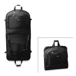 Wallybags - WallyBags 45-Inch Mid Length Bi-Fold Garment Bag - This bag is designed especially for keeping your clothes neat and wrinkle-free even during those extra-long trips. It features a fully lined interior with a handy mesh pocket and large shoe or accessory pockets for added convenience.