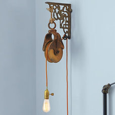 Rustic Pendant Lighting by This Old House