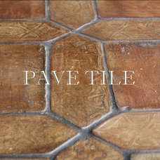 Mediterranean Floor Tiles by Pavé Tile, Wood & Stone, Inc.