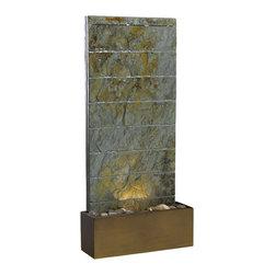 Kenroy - Kenroy 50621SL Brook Floor/Wall Fountain - Kenroy 50621SL Brook Floor/Wall Fountain