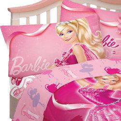 Franco Manufacturing Company INC - Barbie Ballet Twin Sheet Set Ballerina Dancing Bedding - FEATURES: