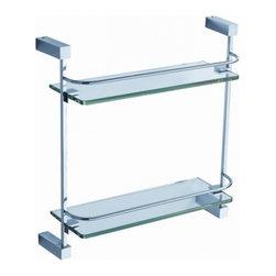 Fresca - Fresca FAC0446 Ottimo 2 Tier Glass Shelf - Fresca FAC0446 Ottimo 2 Tier Glass Shelf
