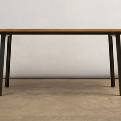 TOKEN - Long Canted Dining Table