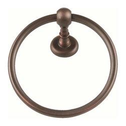 Atlas Homewares - Atlas Homewares Emmtr-Vb Emma 7-Inch Towel Ring, Venetian Bronze - Atlas Homewares Emmtr-Vb Emma 7-Inch Towel Ring, Venetian Bronze