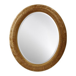 Murray Feiss - Murray Feiss Arlene Traditional Oval Mirror X-GAP2411RM - Murray Feiss Arlene Traditional Oval Mirror X-GAP2411RM