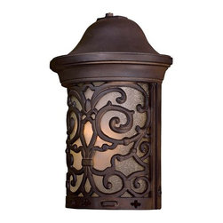 "The Great Outdoors - The Great Outdoors GO 9190-PL 1 Light 12.25"" Height Outdoor Wall Sconce from the - Single Light 12.25"" Height Outdoor Wall Sconce from the Chelesa Road CollectionFeatures:"