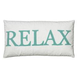 """Rizzy - Rizzy T05980 Pillow, 11"""" x 21"""" - Pillow with Hidden Zipper"""
