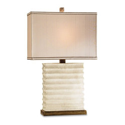 Ivory Line Table Lamp