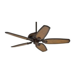 Casablanca - Casablanca Fellini 60 w/Wall Control Ceiling Fan in Provence Crackle - Casablanca Fellini 60 w/Wall Control Model CA-55036 in Provence Crackle with Aged Oak Finished Blades.