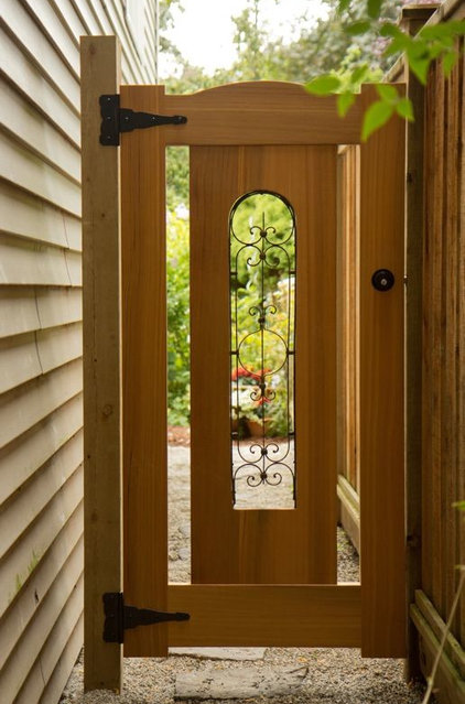Eclectic Home Fencing And Gates by Curtis Custom Woodwork