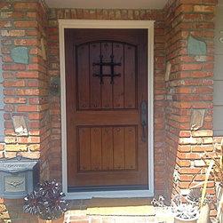 Entry Doors - Tungsten Royce
