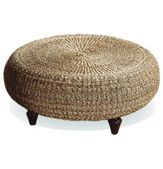 tropical ottomans and cubes by Overstock