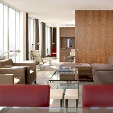 Modern Living Room by Gibbons, Fortman & Associates, Ltd.