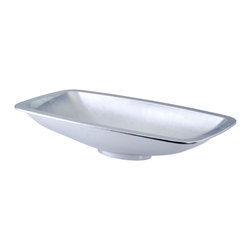 Low Profile Vessel : Italian vessel sink is masterfully created to possess a low profile ...