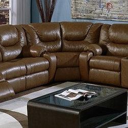Palliser Dugan Home Theater Sofa Sectional -