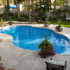 Modern  by Sunshine Pools and Spas