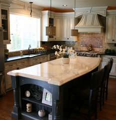 traditional kitchen by Artistic Stone Design
