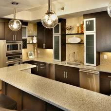 Modern Kitchen by Curtiss W. Byrne Architect, LLC