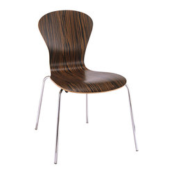 Knoll - Sprite Chair - One word to describe this chair: Versatility. It goes where you want it to go. Need an extra seat at the dining table? Pull it up. More seating in the living room? There it is. It works where you want it to.