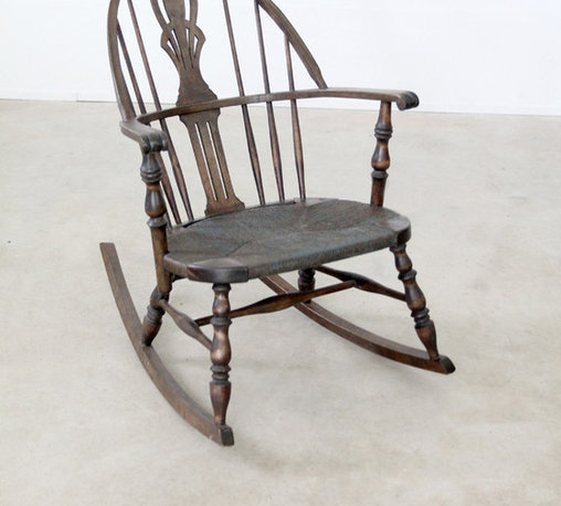 Seating - Antique Windsor Rocking Chair
