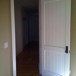 Doors - TruStile MDF doors.  The best in the business.  2-panel v-groove panel.  Craftsman inspired interior trim detailing.