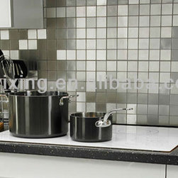 stainless mosaic(metallic mosaic tile) decorate the house wall - 1)#304 stainless steel mosaic for wall decoration