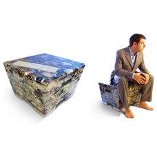 Chairs Stool-Sculpture-Installation