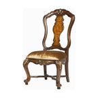 Hooker Furniture - Hooker Furniture Set of 2 Beladora Open Back Side Chair 698-75-510 - The 70-piece Beladora collection of bedroom, dining, living room tables, home office and home entertainment furniture is the epitome of the grand European elegance many are looking for.