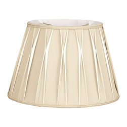 Royal Designs, Inc. - Bowtie Pleated Drum Designer Lampshade - This Bowtie Pleated Drum Designer Lampshade is a part of Royal Designs, Inc. Timeless Designer Shade Collection and is perfect for anyone who is looking for an elegant yet detailed lampshade. Royal Designs has been in the lampshade business since 1993 with their multiple shade lines that exemplify handcrafted quality and value.
