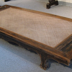 Asian Antique Daybed (Lohan) - Asian Antique Daybed (Lohan)