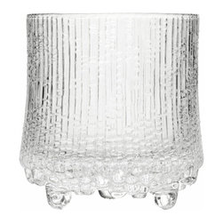 Iittala - Ultima Thule Double Old Fashioned, Set of 2, 9.25 Oz. Clear - Make yours a double with these large old-fashioned glasses. They're wide enough to hold 9 1/4 ounces of your favorite cocktail while keeping things stylish with an eclectic design. Post cocktail hour you won't even have to worry about hand-washing these since they're dishwasher safe.