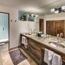 Traditional Bathroom by MWA, Inc