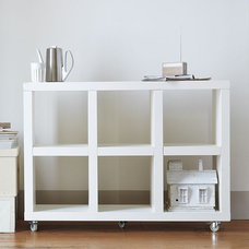 modern storage and organization by West Elm
