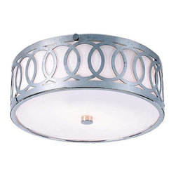 Trans Globe Lighting - Trans Globe Lighting MDN-900 Flushmount In Polished Chrome - Part Number: MDN-900