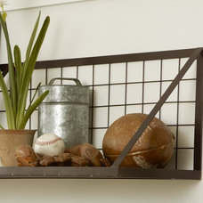 Industrial Display And Wall Shelves  by Pottery Barn