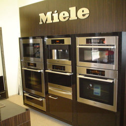 Miele Appliances - Miele offers many types of ovens including speed and steam.