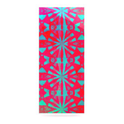 """Kess InHouse - Alison Coxon """"Aloha"""" Metal Luxe Panel (9"""" x 21"""") - Our luxe KESS InHouse art panels are the perfect addition to your super fab living room, dining room, bedroom or bathroom. Heck, we have customers that have them in their sunrooms. These items are the art equivalent to flat screens. They offer a bright splash of color in a sleek and elegant way. They are available in square and rectangle sizes. Comes with a shadow mount for an even sleeker finish. By infusing the dyes of the artwork directly onto specially coated metal panels, the artwork is extremely durable and will showcase the exceptional detail. Use them together to make large art installations or showcase them individually. Our KESS InHouse Art Panels will jump off your walls. We can't wait to see what our interior design savvy clients will come up with next."""