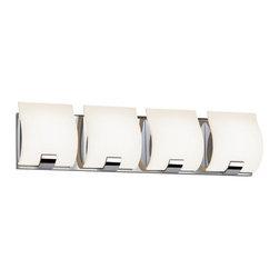 Sonneman - Sonneman 3884LED Aquo LED 4 Light Bathroom Vanity Strip - Features: