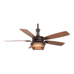 "Fanimation - Fanimation Andover 54"" 5 Blade Ceiling Fan - Blades, Light Kit, & Remote Contr - Included Components:"